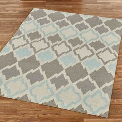 Allotrope Contemporary Abstract Area Rug from $103