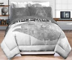 Star Wars Millennium Falcon Comforter for $35