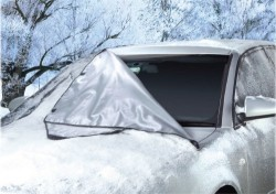 "50"" x 62"" Windshield Magnetic Snow Cover for $16"