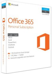 Office 365 Personal 1-Year Subscription for $56