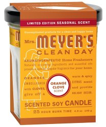 Mrs. Meyer's Clean Day Candle 2-Pack for $4