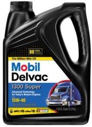 Mobil Delvac 15W-40 Diesel Oil 1-Gallon Jug $11