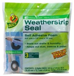 Duck Brand Weatherstrip Seal 3-Pack for $7