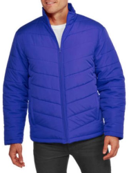 Faded Glory Men's Light Bubble Jacket $8
