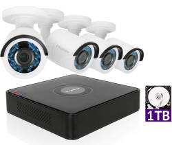LaView 4ch 1TB Security System w/ 4 Cameras $189