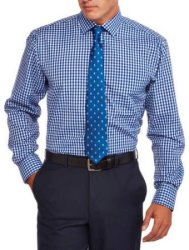 Men's 3pc Long-Sleeve Shirt, Tie, Bow Tie Set $7