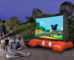 Disney Inflatable 10-Foot Projection Screen $200
