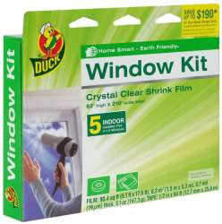 Duck Brand Shrink Film Indoor Window Kit for $7