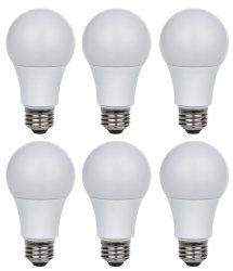 Thinklux 60W-Equivalent LED Light Bulb 6-Pack $12
