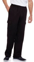 Men's Fleece Cargo Pants $5