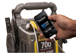 Stanley FatMax 350A Jump Starter for $40