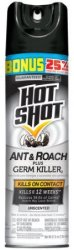 Hot Shot Ant & Roach Killer2 22-oz. Can for $3