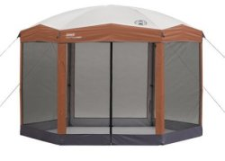 Coleman 12x10-Foot Hex Screened Shelter $154