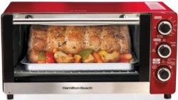 Hamilton Beach 6-Slice Toaster/Broiler Oven $39