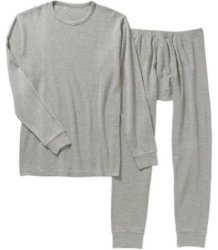 Athletex Men's Thermal Long Under Set for $6