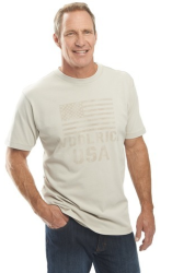 Woolrich Men's First Forks Graphic T-Shirt for $13