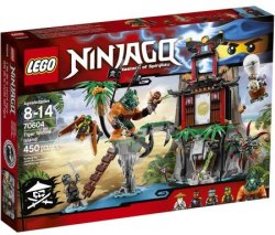 LEGO Ninjago Tiger Widow Island for $35
