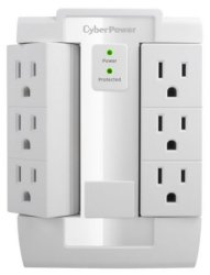 CyberPower 6-Outlet Surge Protector for $8