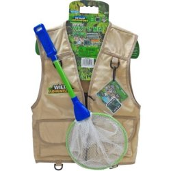 Wild Adventure Kids' Vest and Net for $10