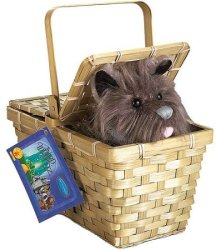 Toto with Basket Halloween Accessory for $15