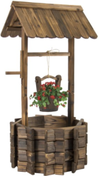 Best Choice Product Wooden Wishing Well for $72