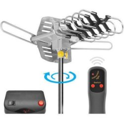 Ematic HDTV Outdoor Antenna w/ 150-Mile Range $30