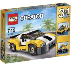 LEGO Creator Fast Car for $15