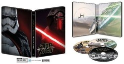 Star Wars: The Force Awakens Steelbook for $10