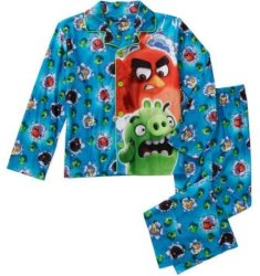 Boys' Licensed 2-Piece Winter Pajama Set for $6