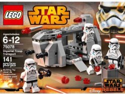 LEGO Star Wars Imperial Troop Transport for $10