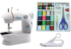 Michley Mini Sewing Machine w/ Accessories for $22