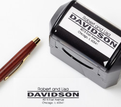 Personalized Self-Inking Address Stamper for $13