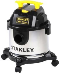 Stanley 4-Gal. Wet/Dry Vacuum for $20