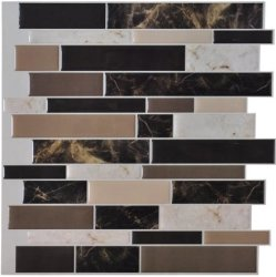 "Art3d 12x12"" Peel and Stick Backsplash for $5"