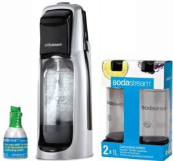 SodaStream Fountain Jet Soda Maker Kit for $39