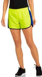 Danskin Now Women's Woven Running Shorts for $5