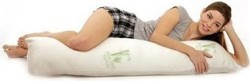 Aloe & Bamboo Memory Foam Body Pillow for $24