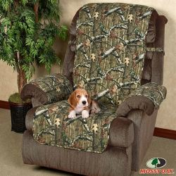 Mossy Oak Infinity Camo Recliner Protector for $26