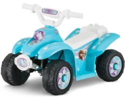 Disney Frozen 6V Battery Powered Ride-On Quad $50