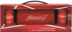 Budweiser Cool Six Cooler Snack Set for $9