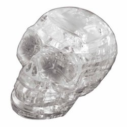 3D Crystal Puzzle Skull for $8