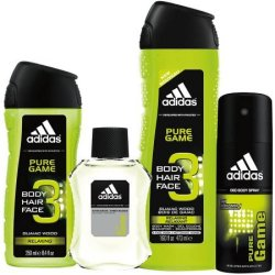 adidas Pure Game 4-Piece Bath Gift Set for $7