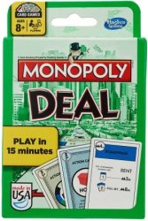 Monopoly Deal Card Game for $5