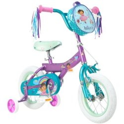 "Nickelodeon Girls' 12"" Dora Bike for $39"