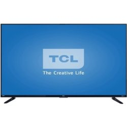 "Refurb TCL 55"" 4K LED LCD UHD Roku Smart TV $309"