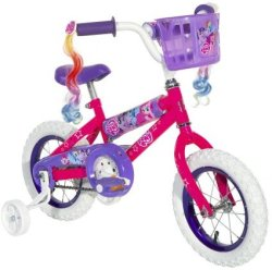 "Dynacraft Girls' My Little Pony 12"" Bike for $63"