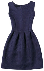 SheIn Women's Jacquard A-Line Dress for $11