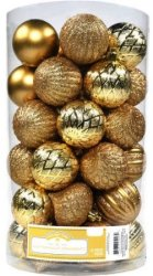 Holiday Time Christmas Ornaments 41-Pack for $4