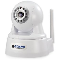 Kguard 720p 802.11n WiFi Surveillance Camera $30