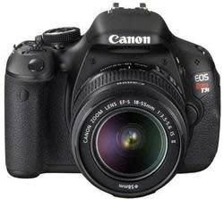 Refurbished Canon EOS Rebel T3i 18MP DSLR w/ Lens for $336 + free shipping